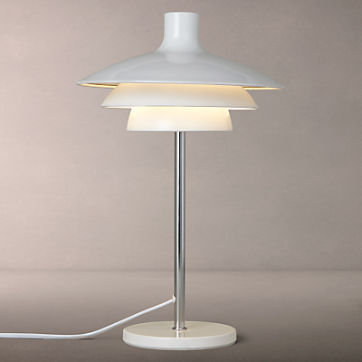 House by John Lewis Harvey Table Lamp, White