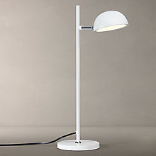 Buy John Lewis Alyin LED Task Lamp, White Online at johnlewis.com