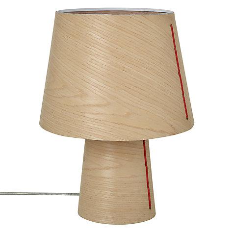 buy house by john lewis marny wood veneer table lamp john lewis. Black Bedroom Furniture Sets. Home Design Ideas
