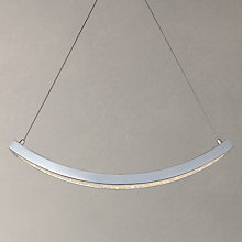 Buy John Lewis Allure Curved LED Pendant Ceiling Light Online at johnlewis.com
