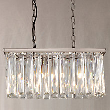 Buy John Lewis Court Crystal Overdiner Ceiling Light Online at johnlewis.com