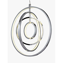 Buy John Lewis Cosmic LED Ring Pendant Ceiling Light Online at johnlewis.com
