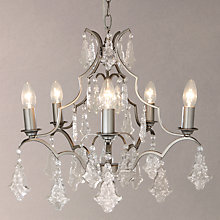Buy John Lewis Isla 6 Arm Ceiling Light Online at johnlewis.com