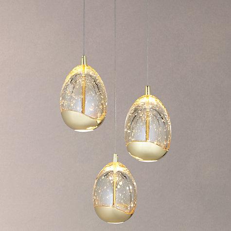 Buy John Lewis Droplet Led 3 Pendant Ceiling Light John