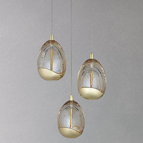 Buy John Lewis 3 Droplet LED Pendant Ceiling Light