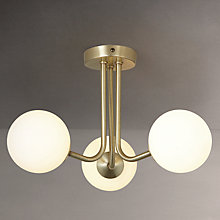 Buy John Lewis Odyssey 3 Arm Ceiling Light Online at johnlewis.com