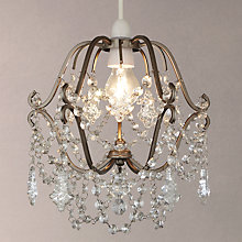 Buy John Lewis Cinderella Glass Drops Ceiling Shade Online at johnlewis.com