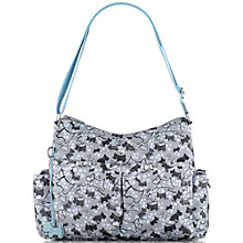 Buy Radley Cherry Blossom Dog Changing Bag, Grey Online at johnlewis.com