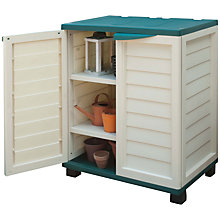 Buy Suntime Utility Cabinet, Cream Online at johnlewis.com