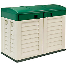 Buy Suntime Shed for Pair of Wheelie Bins Online at johnlewis.com