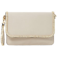 Buy Dune Erica Gem Clutch Bag, Cream Online at johnlewis.com