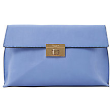 Buy Dune Elexus Clutch Bag, Purple Online at johnlewis.com