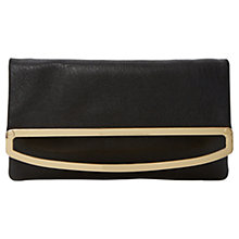 Buy Dune Emilia Metal Foldover Clutch Bag Online at johnlewis.com