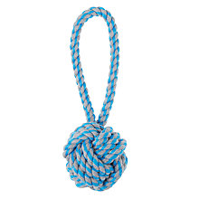 Buy Fred & Ginger Knot Ball Chucker Dog Toy Online at johnlewis.com