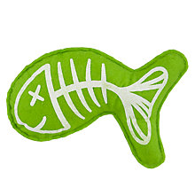 Buy Fred & Ginger Felt Fish Cat Toy Online at johnlewis.com