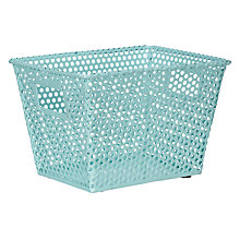 Buy House by John Lewis Perforated Wire Storage Basket, Small Online at johnlewis.com