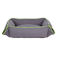 Buy Fred & Ginger Neon Piped Dog Bed Online at johnlewis.com