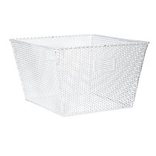 Buy House by John Lewis Perforated Storage Basket, Mint Online at johnlewis.com
