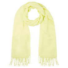 Buy Kaliko Shawl, Pastel Yellow Online at johnlewis.com