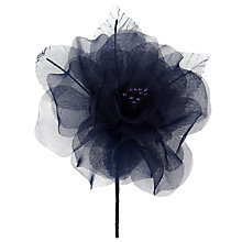 Buy John Lewis Organza Rose Corsage Online at johnlewis.com
