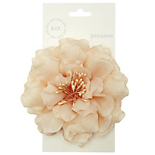 Buy John Lewis Open Peony Corsage Online at johnlewis.com