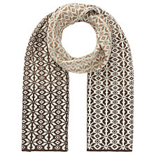 Buy John Lewis Ombre Snowflake Scarf, Toast Online at johnlewis.com