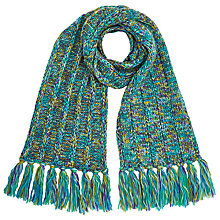 Buy John Lewis Chunky Lux Scarf, Multi Online at johnlewis.com