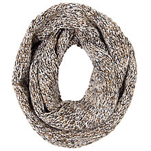 Buy John Lewis Wool Blend Snood, Natural Online at johnlewis.com