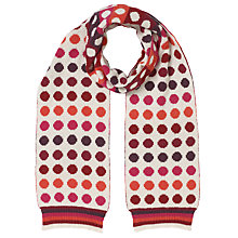 Buy John Lewis Stripey Spot Scarf, Multi Online at johnlewis.com