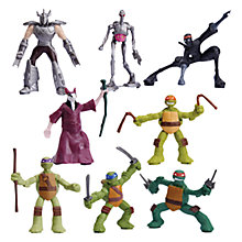 Buy Teenage Mutant Ninja Turtles Mini Action Figure, Assorted Online at johnlewis.com