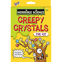 Buy Galt Horrible Science Creepy Crystals Online at johnlewis.com