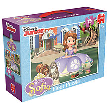 Buy Disney Junior Sofia Floor Puzzle Online at johnlewis.com