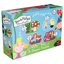 Buy Ben & Holly's Little Kingdom 4 Shaped Puzzles Online at johnlewis.com