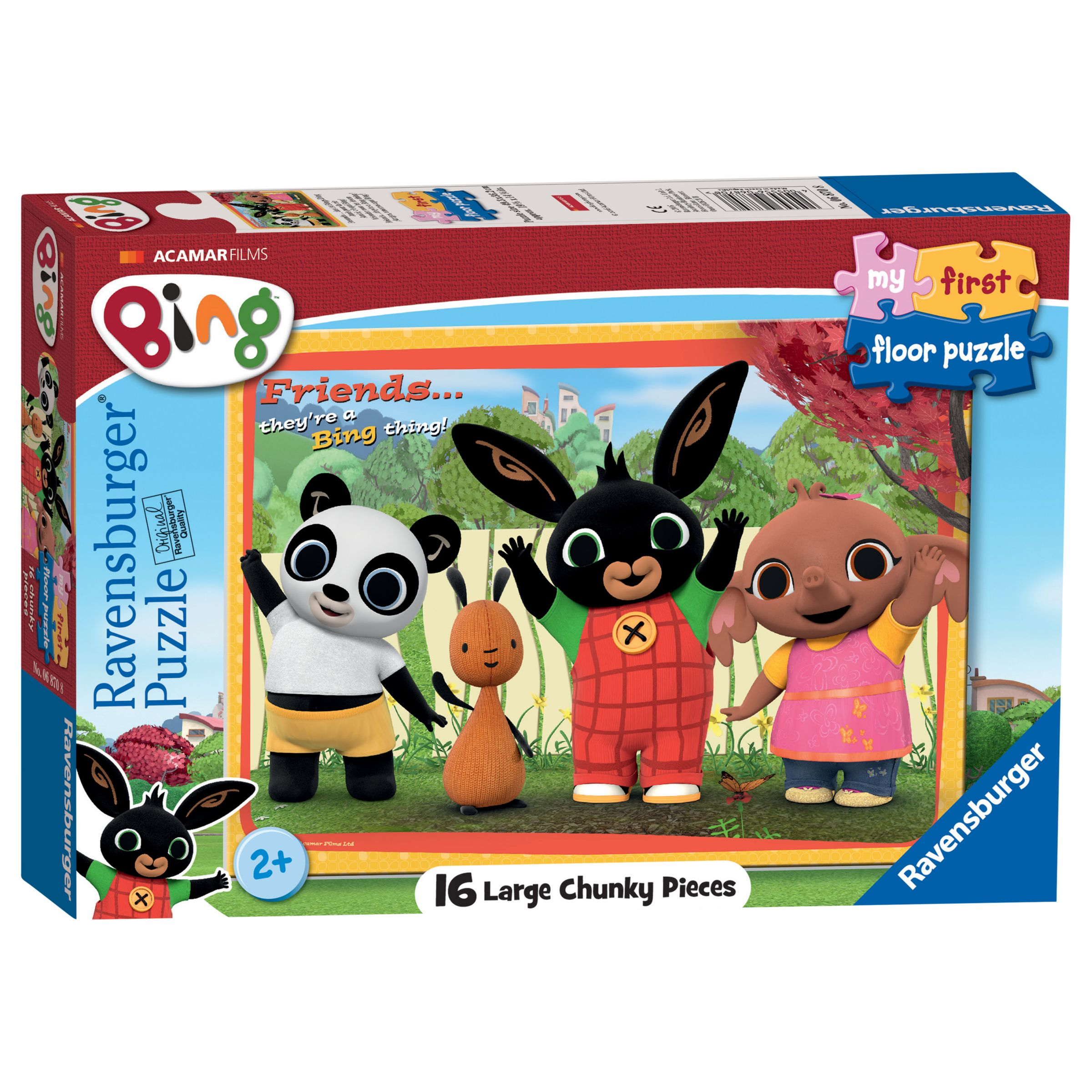 Ravensburger Ravensburger Bing Bunny My First Floor Puzzle