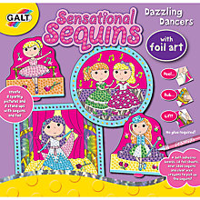 Buy Galt Sensational Sequins Dazzling Dance Foil Art Online at johnlewis.com