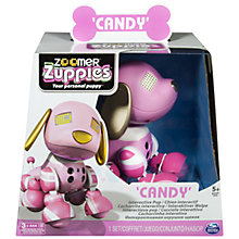 Buy Zoomer Zuppies Robotic Puppy, Assorted Online at johnlewis.com