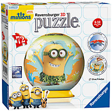 Buy Ravensburger Minions Movie 3D Jigsaw Puzzle Online at johnlewis.com
