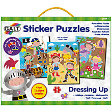 Buy Galt Sticker Puzzles Dressing Up Online at johnlewis.com