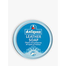 Buy Antiquax Leather Soap, 100ml Online at johnlewis.com
