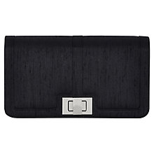 Buy Jacques Vert Twist Lock Clutch Bag, Navy Online at johnlewis.com