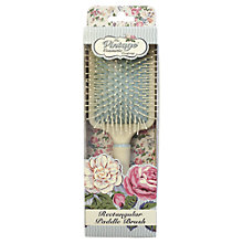 Buy The Vintage Cosmetic Company Soft Rectangular Paddle Hair Brush Online at johnlewis.com