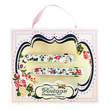 Buy The Vintage Cosmetic Company Floral Barette Clips, Pack of 2 Online at johnlewis.com