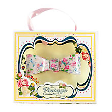 Buy The Vintage Cosmetic Company Floral Vintage 3D Bow Clip Online at johnlewis.com