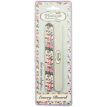 Buy The Vintage Cosmetic Company Twin Pack Emery Board Online at johnlewis.com