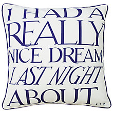 Buy Emma Bridgewater Dream Cushion Online at johnlewis.com