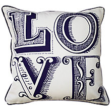 Buy Emma Bridgewater Love Cushion Online at johnlewis.com