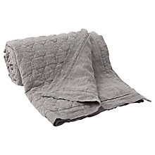 Buy Lexington The Spring Collection Quilted Linen Throw Online at johnlewis.com