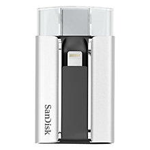 Buy SanDisk iXpand Flash Drive for iPhone and iPad, 16GB Online at johnlewis.com