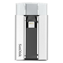 Buy SanDisk iXpand Flash Drive for iPhone and iPad, 32GB Online at johnlewis.com