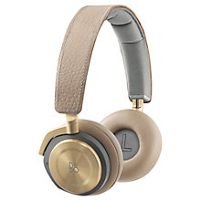 Buy Bang & Olufsen BeoPlay H8 Wireless Bluetooth Active Noise Cancelling On-Ear Headphones Online at johnlewis.com